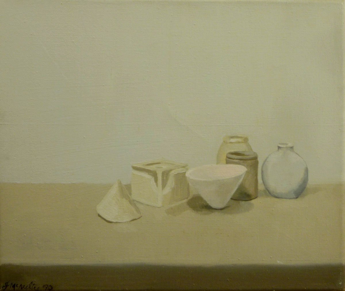 44-Still-Life-with-Paper-Cone-1990-