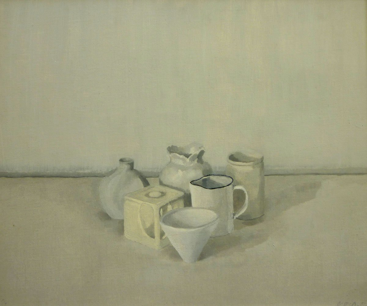 48-Still-Life-(triangle-of-six-objects)-1995-