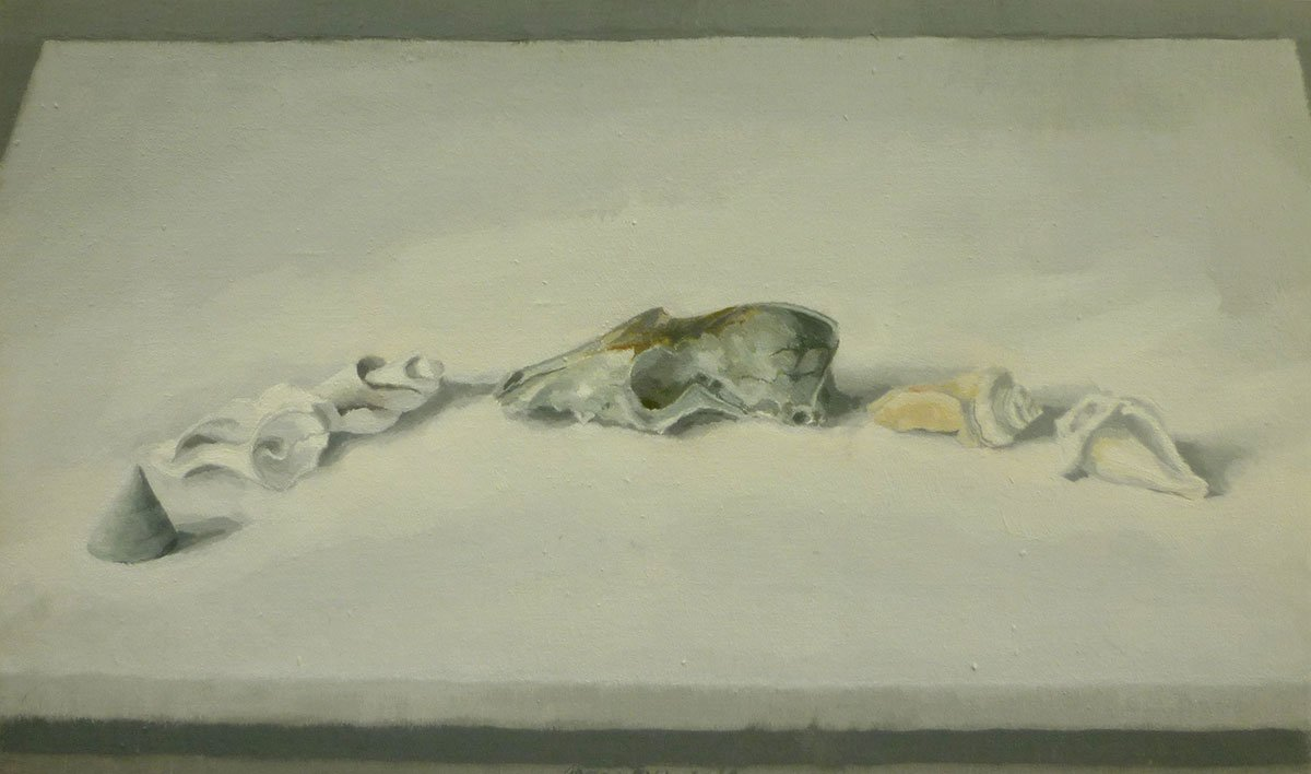 50-Still-Life-(with-fox-skull)-1997-