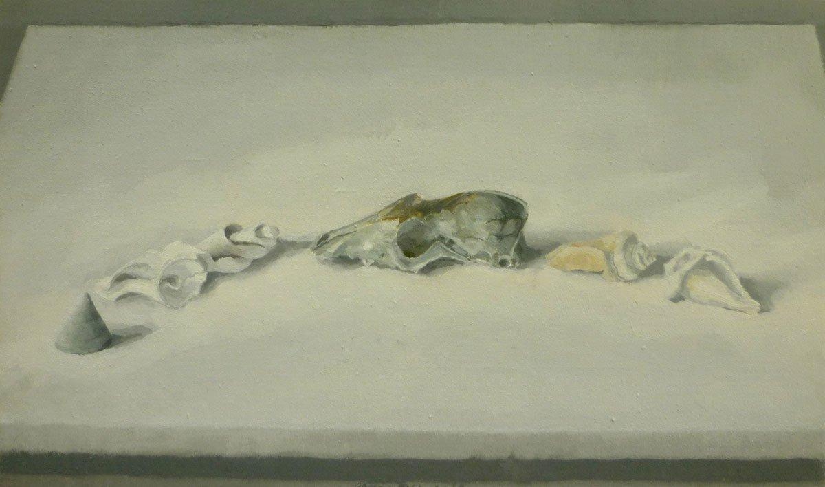 50-Still-Life-(with-fox-skull)-1997-