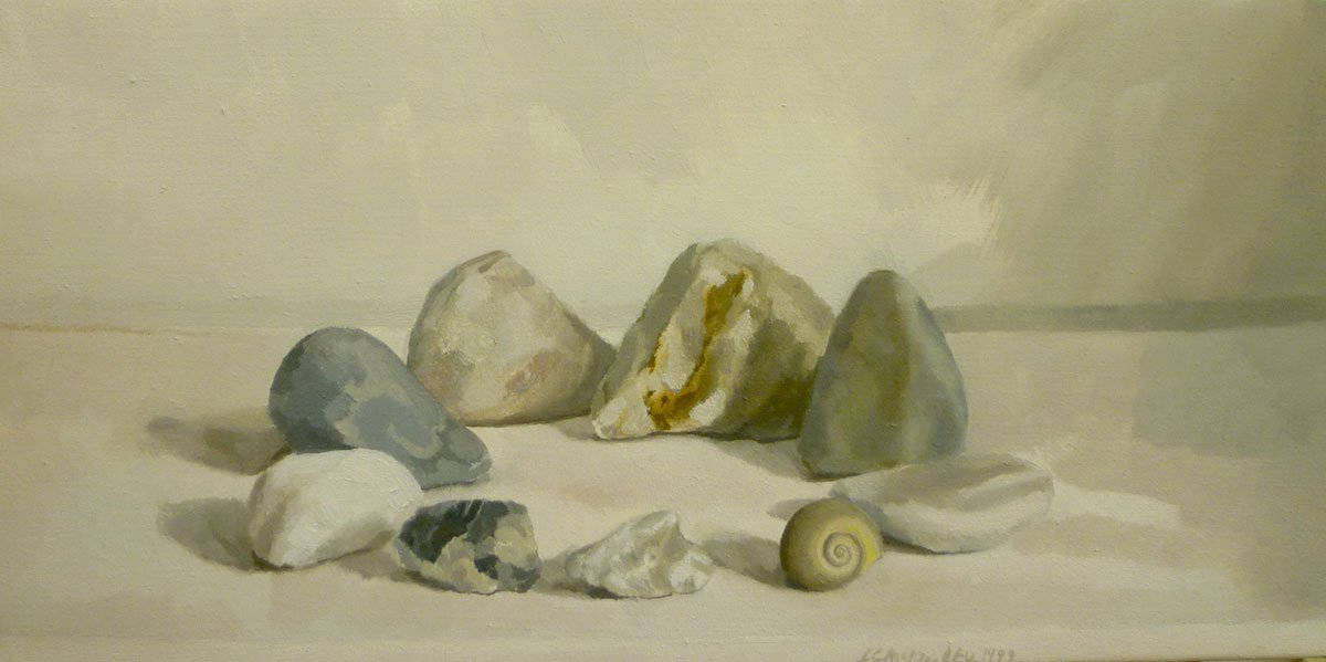 53-Still-Life-(circle-of-stones)-1999-