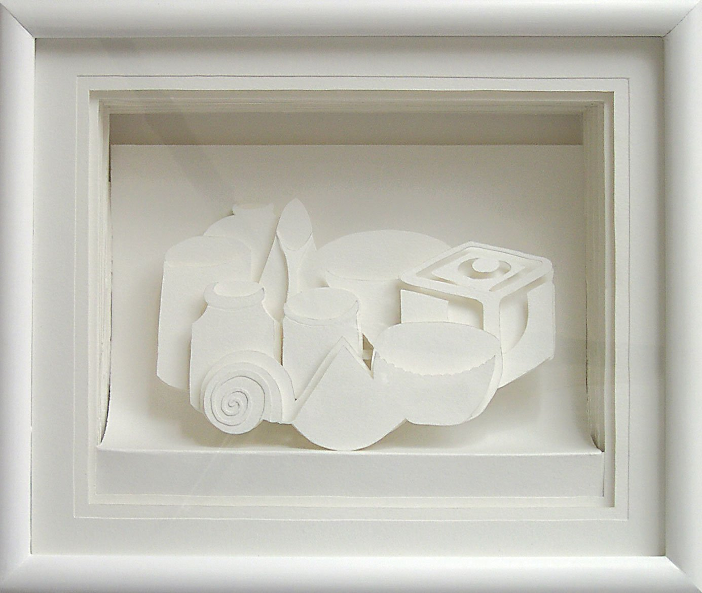 Still-LIfe-in-a-box,-2004,-paper,-30-x-32x-9cm
