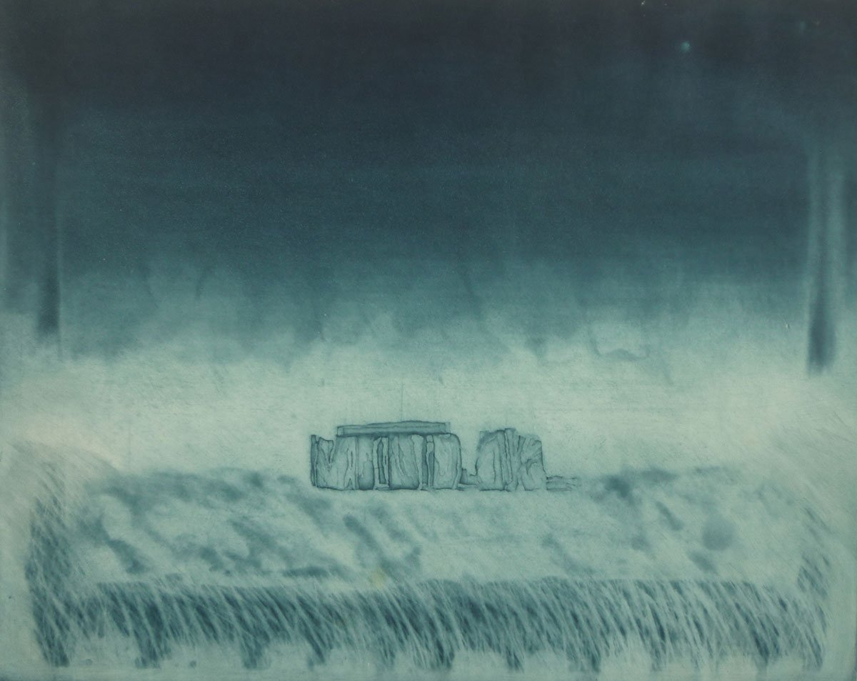 Print-13-Untitled-(Stonehenge-blue-black-)